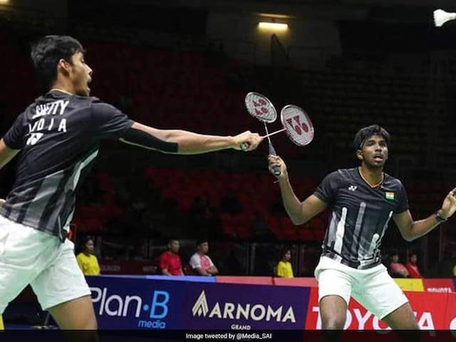 BADMINTON: Satwiksairaj Rankireddy & Chirag Shetty reaches in to final of the double of french Open