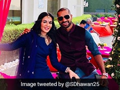 """Far But Still Close To Me"": Shikhar Dhawan's Tweet For Wife On Karwa Chauth Gives Couple Goals"