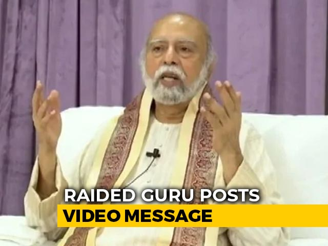 "Video : ""Haven't Abandoned You"": ""Kalki Bhagwan"" To Followers After Tax Raids"