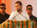 Video : PM Modi Has No Understanding Of Economy, Says Rahul Gandhi
