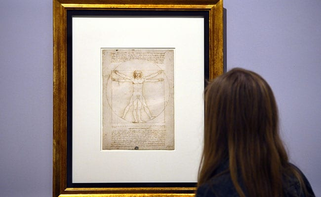 Italy Refuses To Stop Iconic Da Vinci Drawing From Being Loaned To Louvre