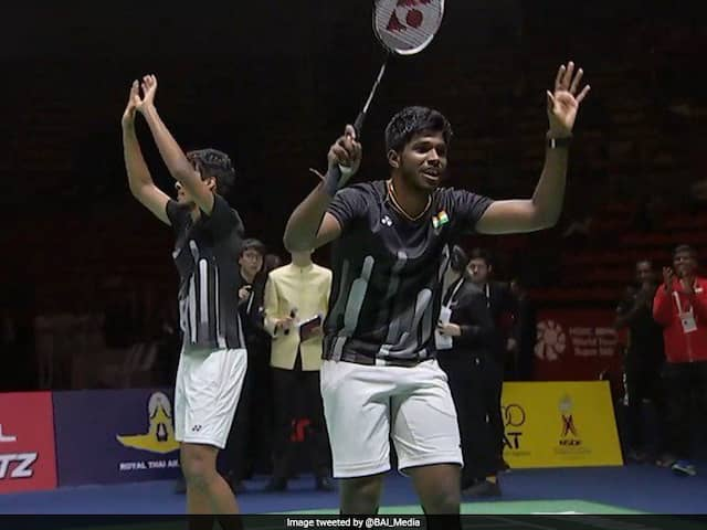 French Open: Satwiksairaj Rankireddy-Chirag Shetty Stun World Champions To Enter Quarterfinals