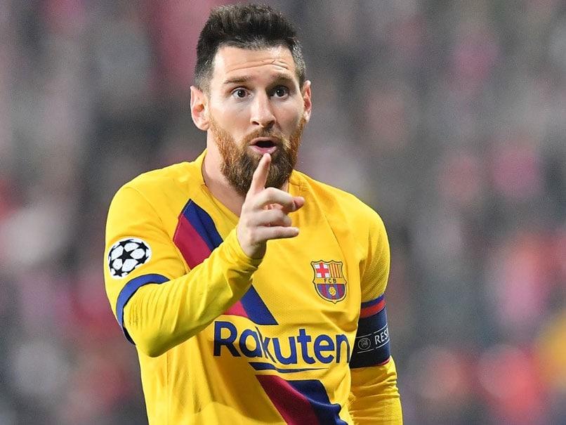 Slavia Prague vs Barcelona: Lionel Messi