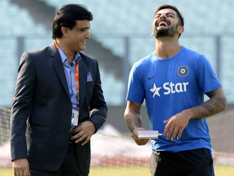 """Sourav Ganguly """"Knows The Requirements Of Indian Cricket"""", Says Virat Kohli"""