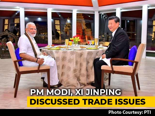 Video : On Day 1, PM Modi, Xi Jinping Discuss Trade And Terrorism