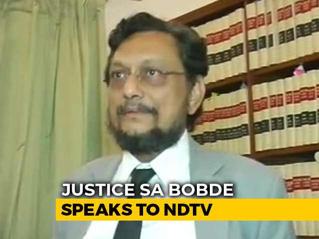 """Video : """"Took Oath To Uphold Law, Law Prescribes Death Penalty"""": Chief Justice-Designate SA Bobde"""