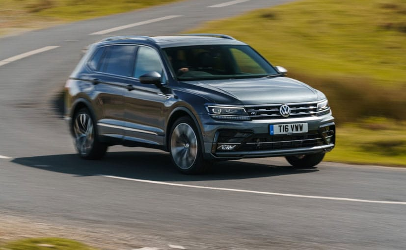 The VW Tiguan AllSpace will be offered with the 2-litre petrol motor