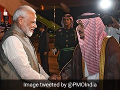 "Saudi A ""Valued Friend,"" Says PM, To Meet Crown Prince In Riyadh Today"