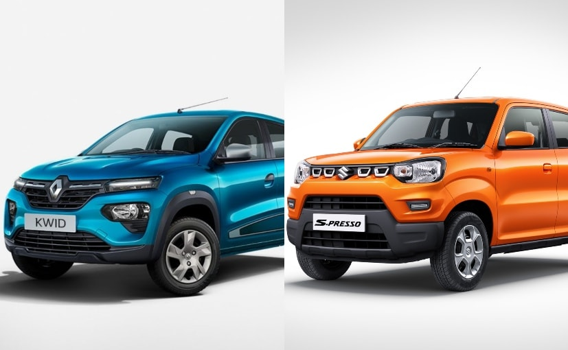 The Renault Kwid and the Maruti Suzuki S-Presso compete in the new micro SUV subsegment