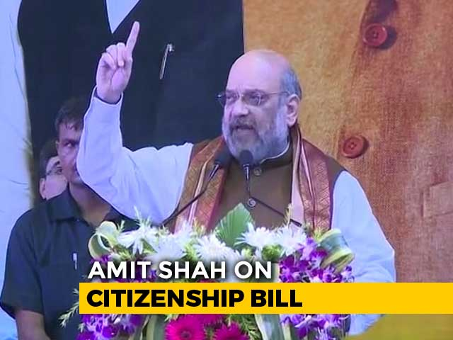 Video : Will Bring Citizenship Law, Throw Out Infiltrators: Amit Shah In Kolkata