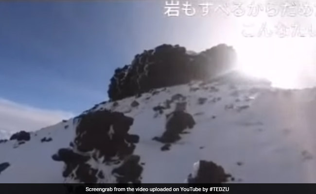 He Was Live-Streaming His Mt. Fuji Climb, Then The Sound Of His Fall