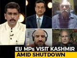 Video : Controversy Over EU MPs' Kashmir Tour