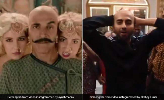 Housefull 4: Akshay Kumar Vs Ayushmann Khurrana In Unexpected And LOL Bala-Off