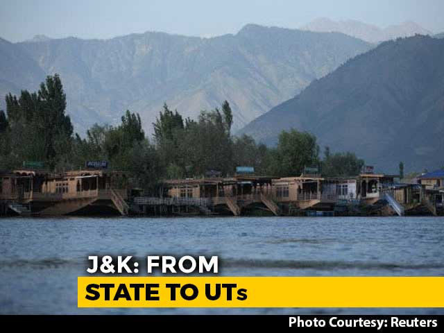 Video : J&K Not A State From Today, Officially Split Into 2 Union Territories