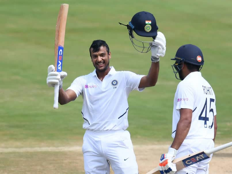 India vs South Africa, 1st Test, Day 2: Mayank Agarwal Smashes Maiden Century On His Home Test Debut
