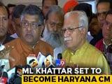 Video : ML Khattar's Oath Tomorrow In Haryana, Dushyant Chautala To Be Deputy
