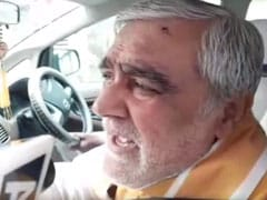 केंद्रीय मंत्री अश्विनी चौबे के चेहरे पर फेंकी गई स्याही, मरीजों का हाल जानने गए थे पटना मेडिकल कॉलेज