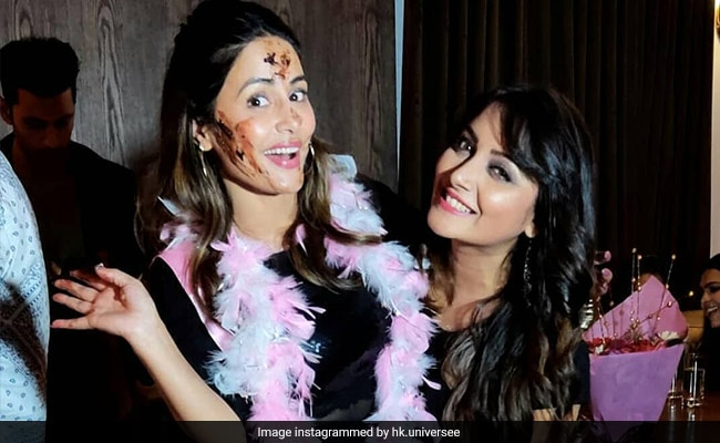 Inside Hina Khan's Birthday Celebrations With Friends. See Trending Pics