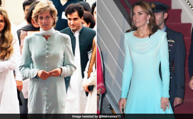 Kate Middleton Channels Princess Diana's Style During Pakistan Tour