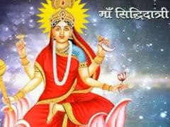 Maha Navami 2019: Goddess Siddhiratri Worshipped Today. PM Shares Greetings