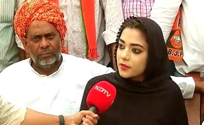 क्या लंदन से पढ़कर आई 27-वर्षीय नौक्षम चौधरी BJP को दिलवा पाएंगी मुस्लिम-बहुल इलाके में जीत