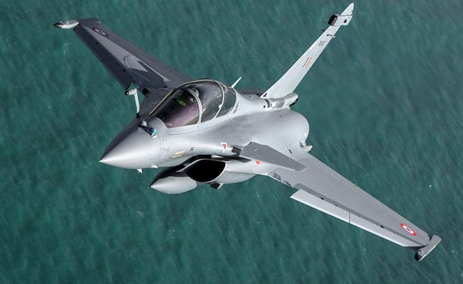First Photos Of Airborne RB-002, India's Second Rafale Jet