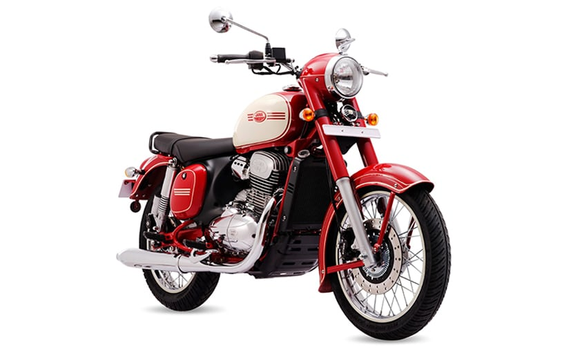 The Jawa 90th Anniversary Edition is offered only on the dual-channel ABS version