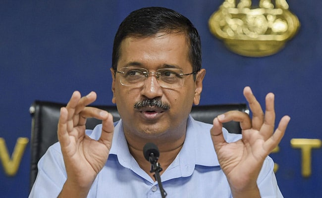 Arvind Kejriwal Congratulates Delhiites For Top Rank In Innovation Index