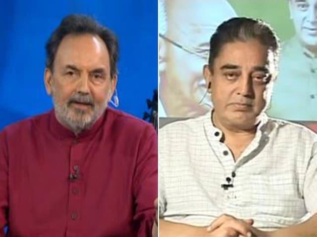 Video : Be It Satyagraha Or Swachh Bharat, It Starts From Inside: Kamal Haasan