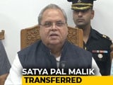 Video : GC Murmu Is J&K's First Lieutenant Governor, Satya Pal Malik Moved To Goa
