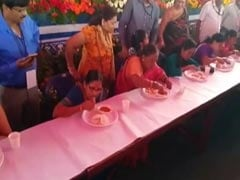 60-Year-Old Karnataka Woman Eats 6 Idlis In A Minute, Wins Competition