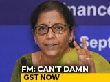 "Video : ""GST May Have Flaws, But It's The <i>Kanoon</i>"": Finance Minister Nirmala Sitharaman At Pune Event"