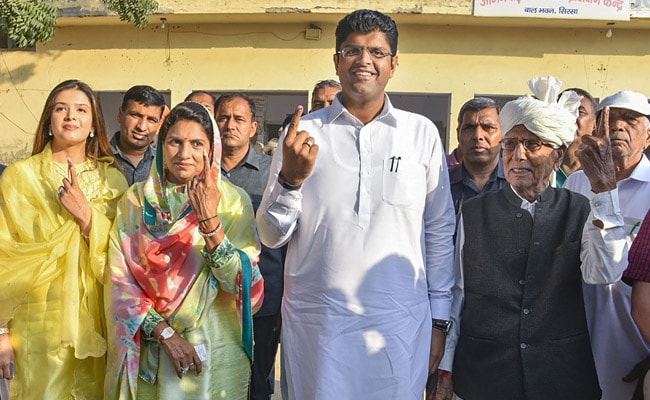Elections Results 2019: Dushyant Chautala Approached By Congress Amid Tense Haryana Fight
