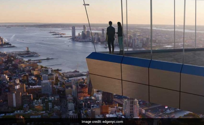 Walk On A Glass Floor 100 Stories Up In New York City