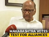 "Video : ""We're Coming To Power,"" Sharad Pawar Tells NDTV As Maharashtra Votes"