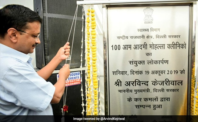 Arvind Kejriwal Inaugurates 100 New Mohalla Clinics, Promises 100 More Next Month