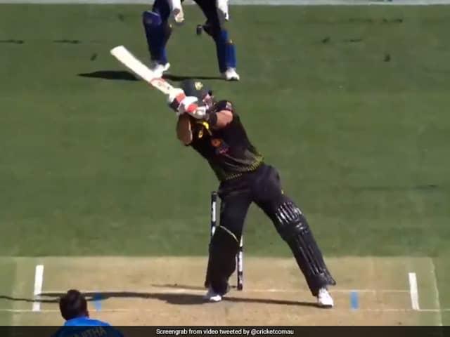 AUS vs SL T20: Glenn Maxwell did a MS Dhoni against Sri Lanka