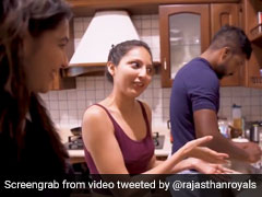 "World Food Day: Rajasthan Royals Bowler Varun Aaron Showcases ""Baking Skills"" In Kitchen"