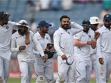 Video : India Break A Flurry Of Records, Clinch Test Series In Style