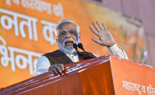 PM Modi To Address Two Poll Rallies In Jharkhand Today