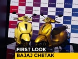 Video : First Look Bajaj Chetak Electric Scooter