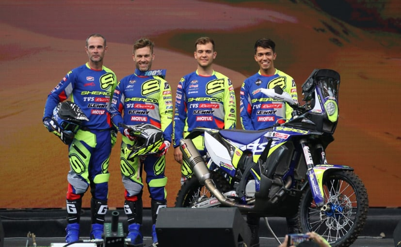 Michael Metge, Johnny Aubert & Lorenzo Santolino return to Dakar, while Harith Noah makes his debut