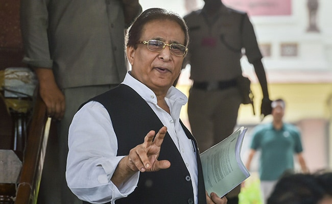 Accused Of Stealing 'Goats, Hens', Azam Khan Breaks Down At UP Rally