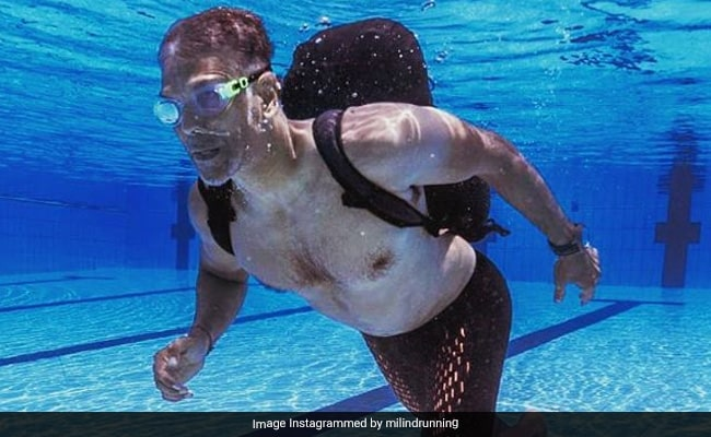 Milind Soman Ran Underwater With 12 Kg On His Back. Because He's Milind Soman