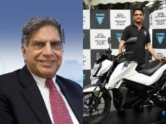 Ratan Tata To Invest In Pune-Based Electric Two-Wheeler Start-up Tork Motors