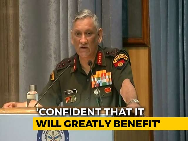 "Video : ""We'll Win Next War Through Indigenised Weapons Systems"": Army Chief"
