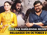 Video : Chiranjeevi And Tamannaah Bhatia On <i>Sye Raa Narasimha Reddy</i> And More