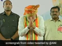 Crowd Interrupts PM's Speech At Pune Rally, He Responds With A Gesture