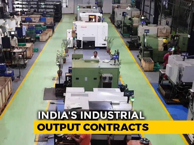 Video : Industrial Production Contracts 1.1% In August