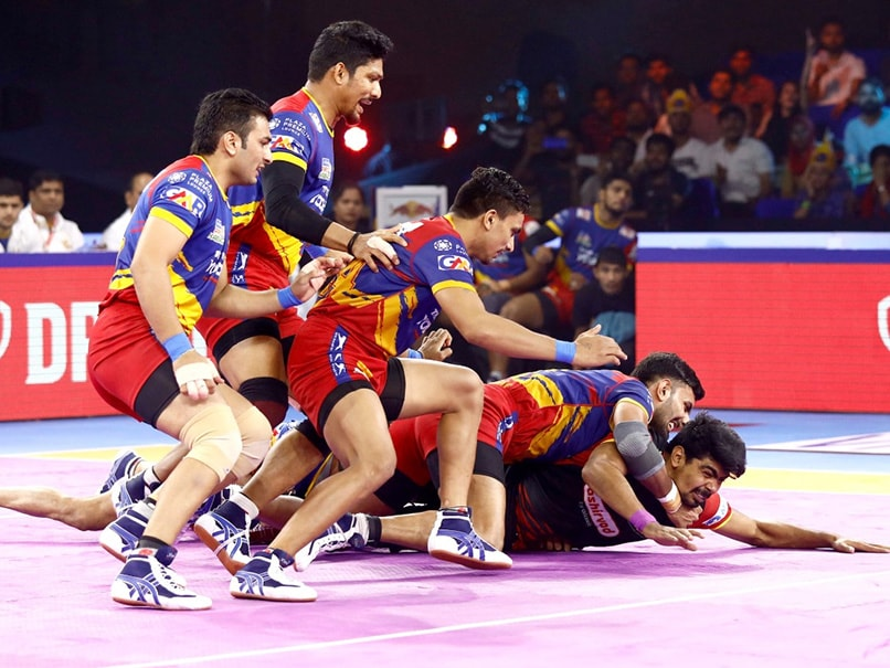 Pro Kabaddi: U Mumba-Dabang Delhi Game Ends In Tie, UP Yoddha Beat Bengaluru Bulls